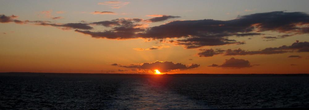 *Englischer* Sonnenuntergang ^^