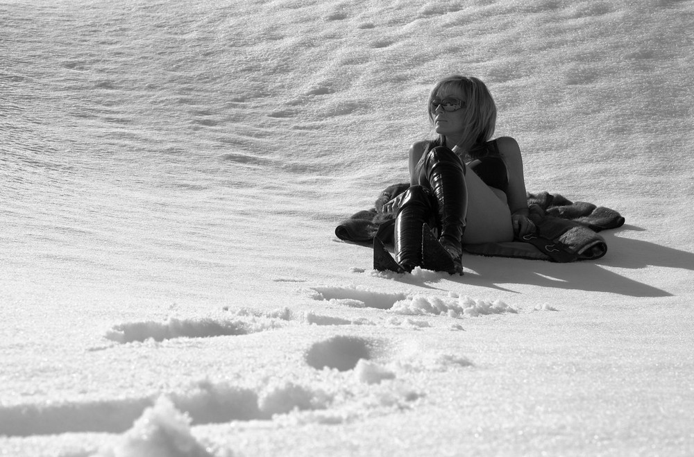 enjoy the snow....