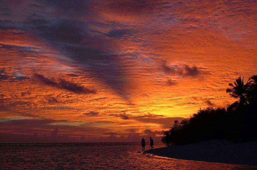 enjoying sunset...