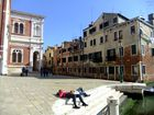 Enjoying Venice and each other