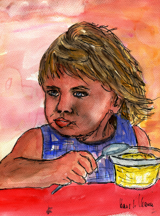 Enkelin Anna - Pudding macht nicht dick