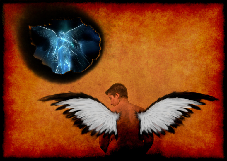 Enlightment - a fallen angel is coming home...