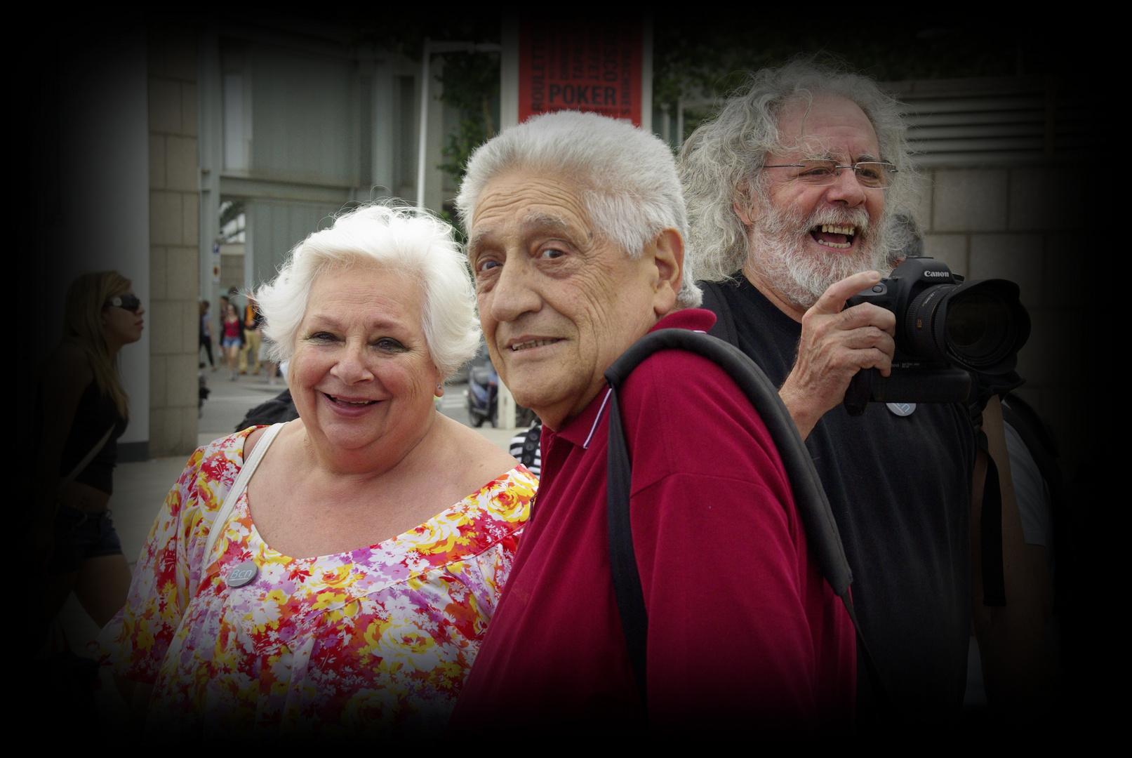 Ennio Valotto, Francesca y Dani Rivera