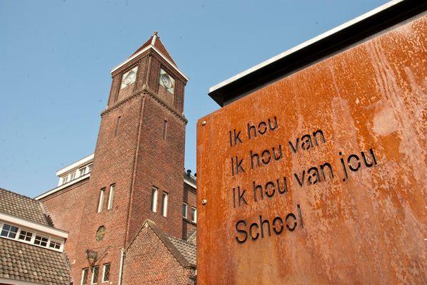 "Enschede - Pathmos - Spinnerstraat 4 - Primary School ""Sint Jan"""