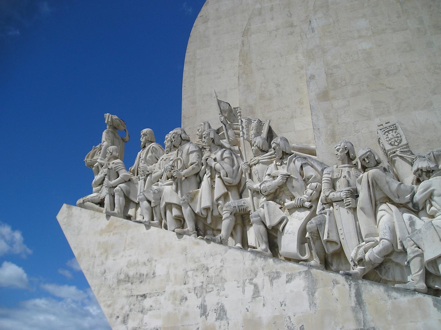 Entdeckerdenkmal von Belem (Lissabon / Portugal)
