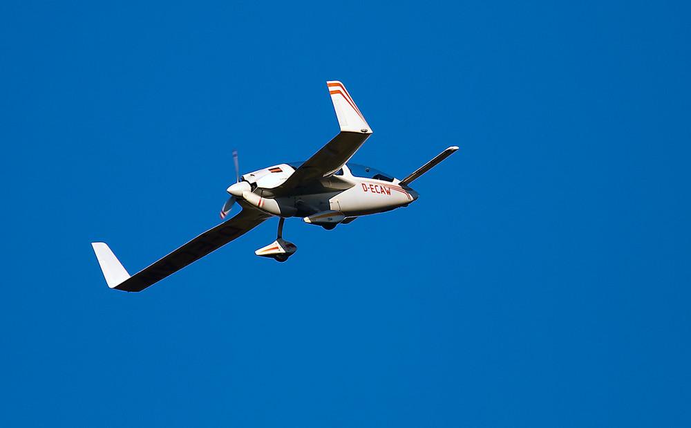 Ente mit Propeller