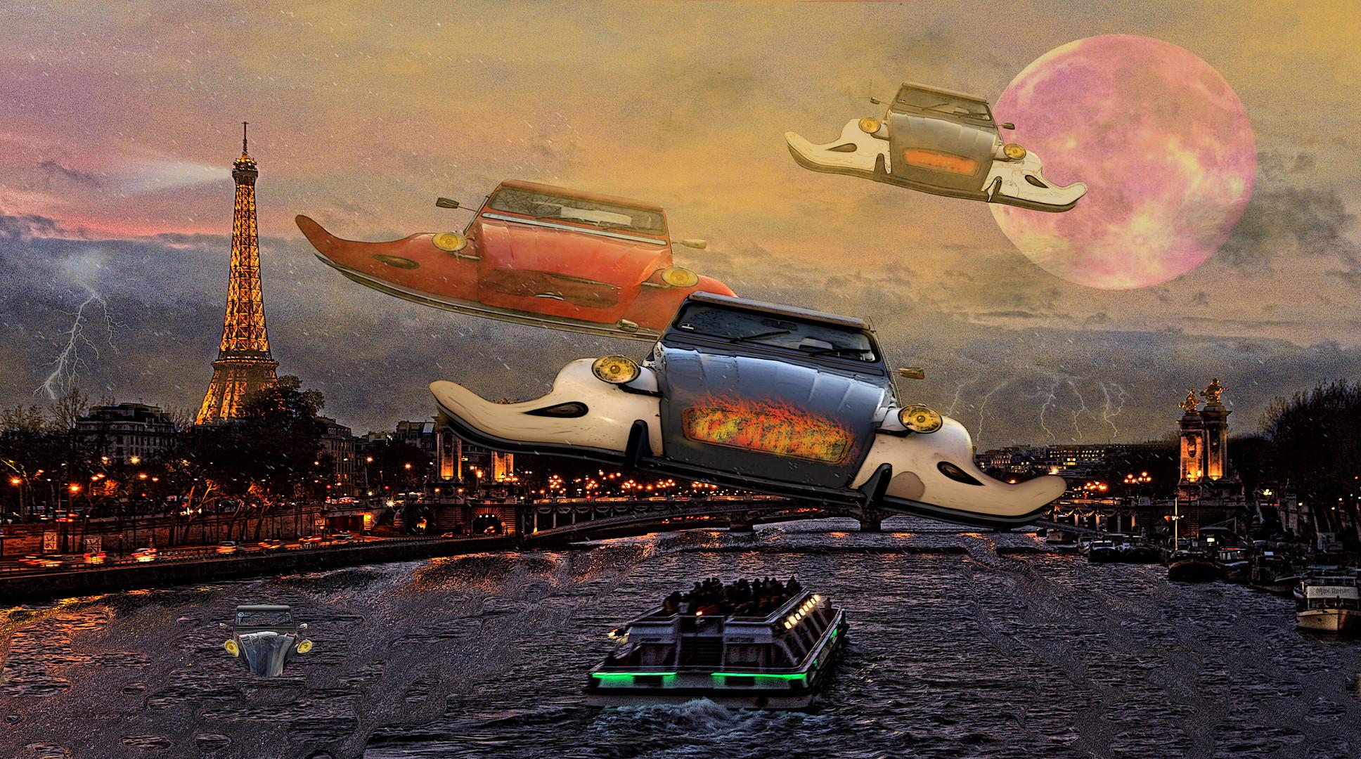 Entengeschwader über Paris
