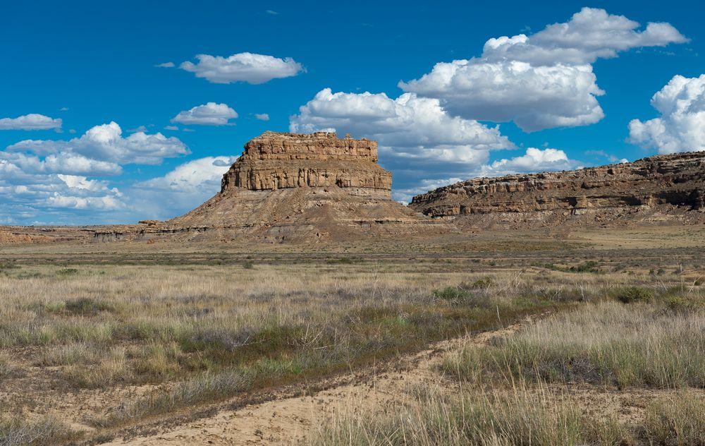 Entering Chaco Canyon