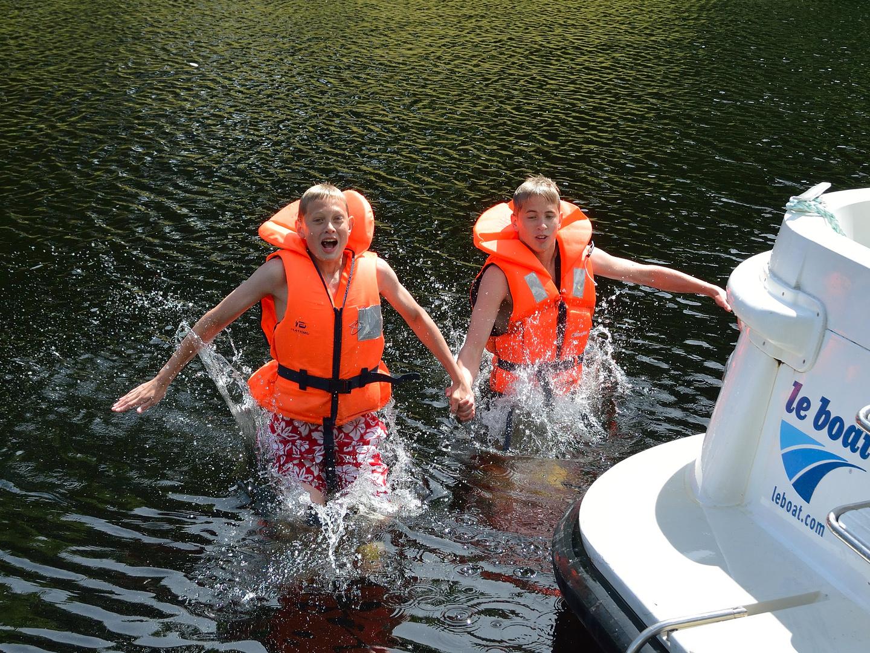 Entering Loch Ness