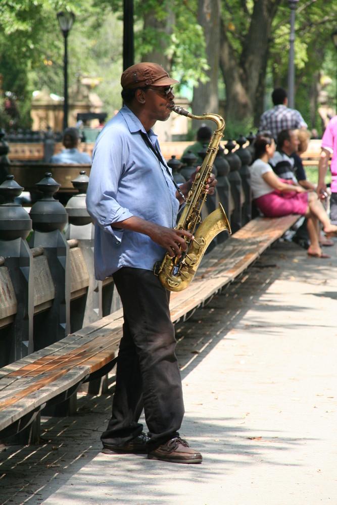 Entertainment im Central Park