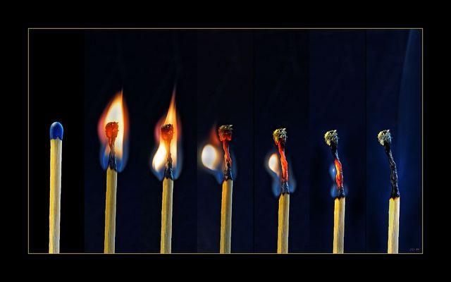 Entflammt - Aus dem Leben eines Streichholzes