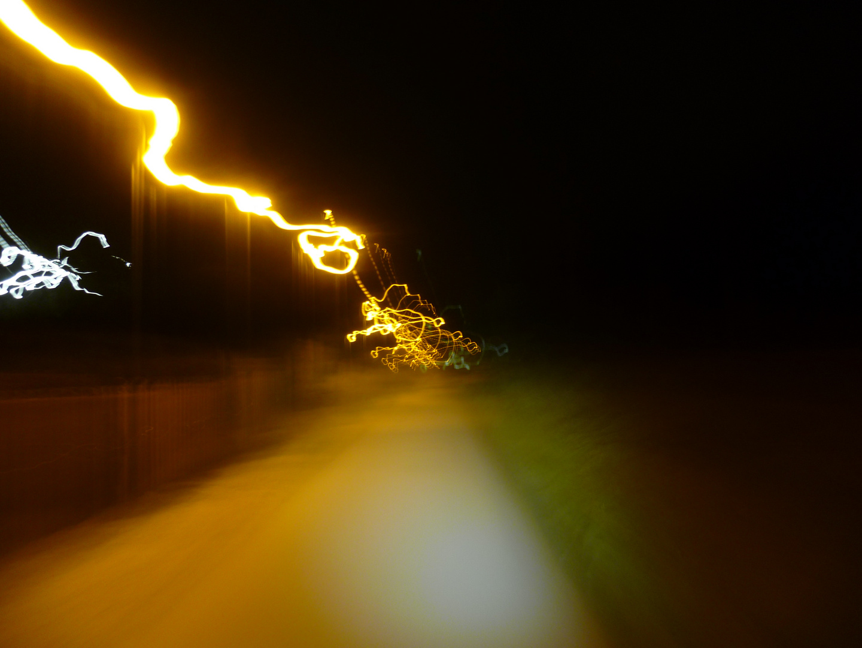 Entladung der Nacht