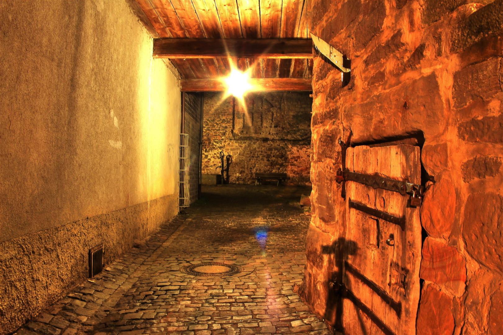 Entlang der alten Stadtmauer..