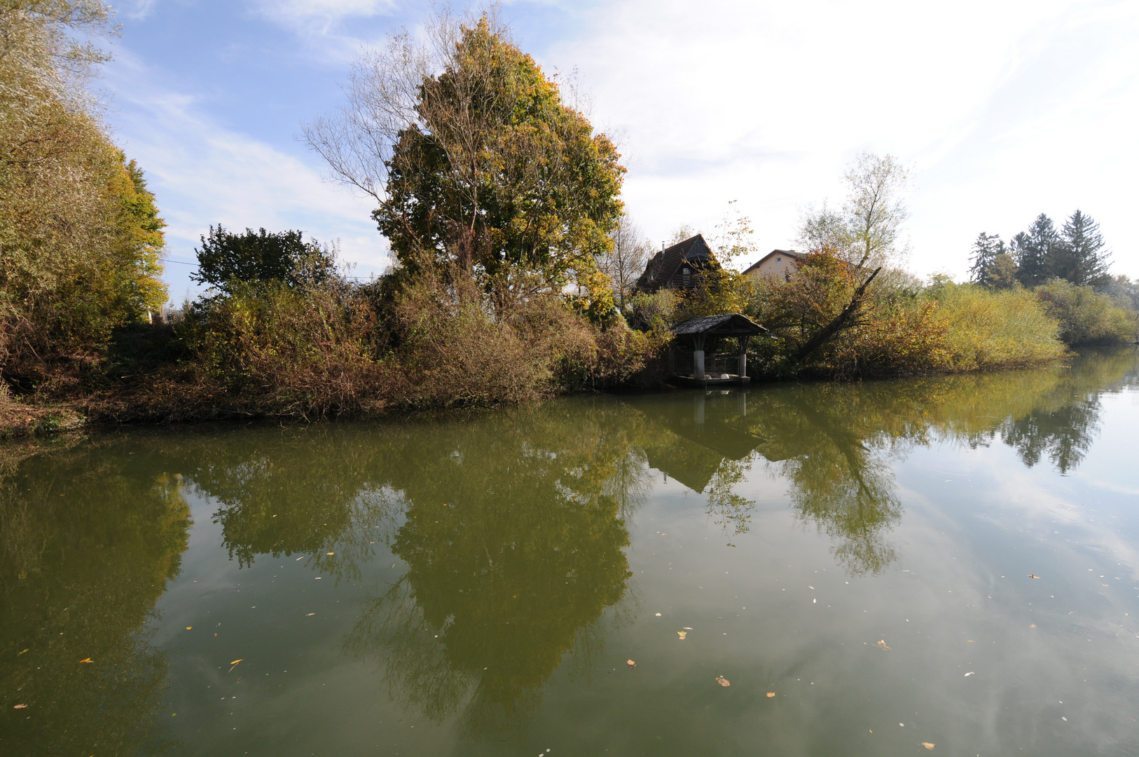 Entlang der Ljubljanica