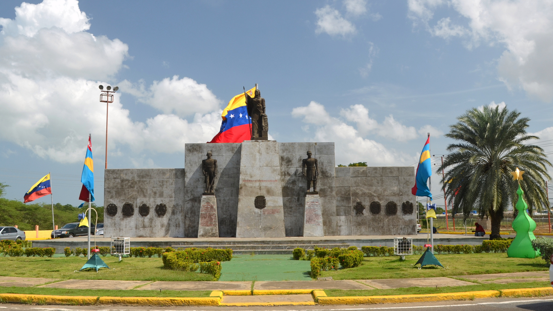 Entrada a Coro, estado Falcón Venezuela