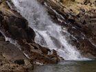 Entrada de agua Estany Gento ( 2.140 m ) La Vall Fosca Pallars Jussà (Lleida Catalunya)