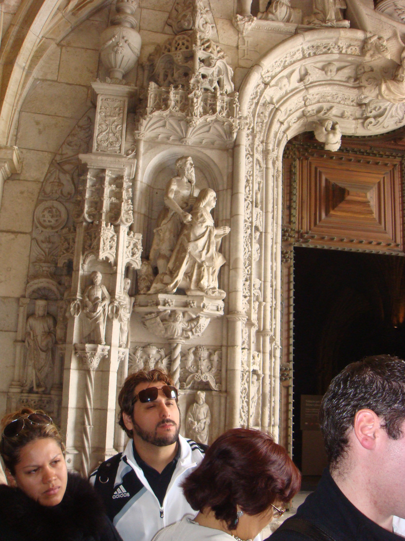 Entrada principal do mosteiro dos Jerônimos-