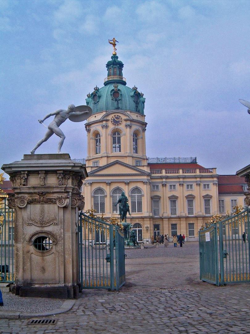 Entrance to Charlottenburg Castle
