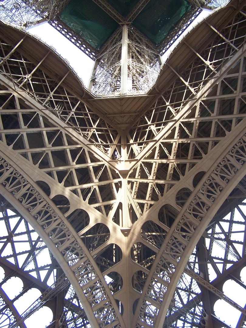 entrave de poutrelles parisienne