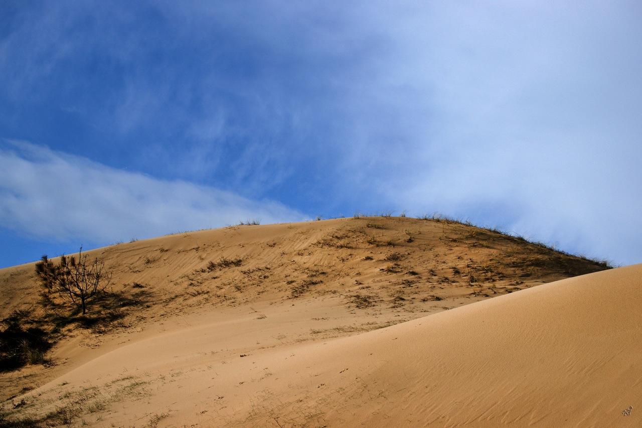 Entre ciel et sable .....