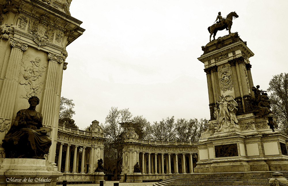 ...entre columnas...