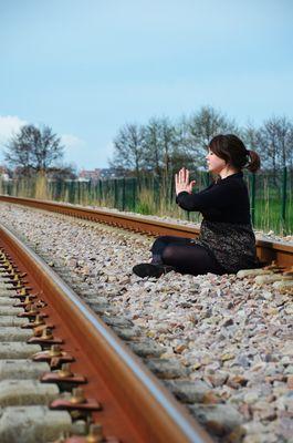 Entre deux rails ...