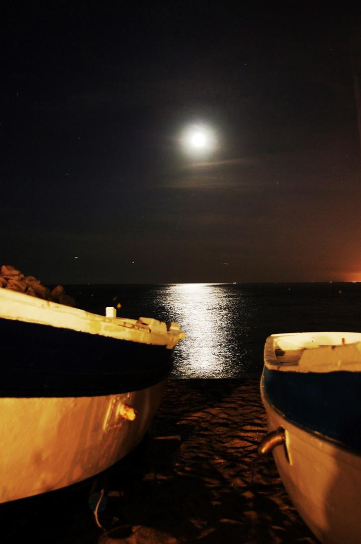 entre dos barcas