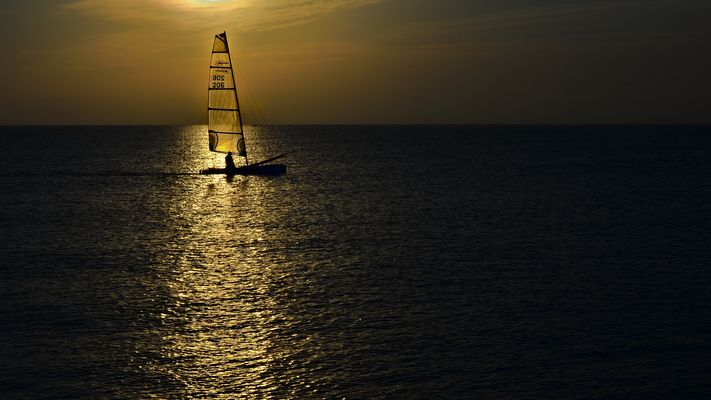 Entre mer et soleil
