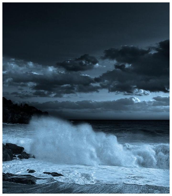 Entre ola y cielo