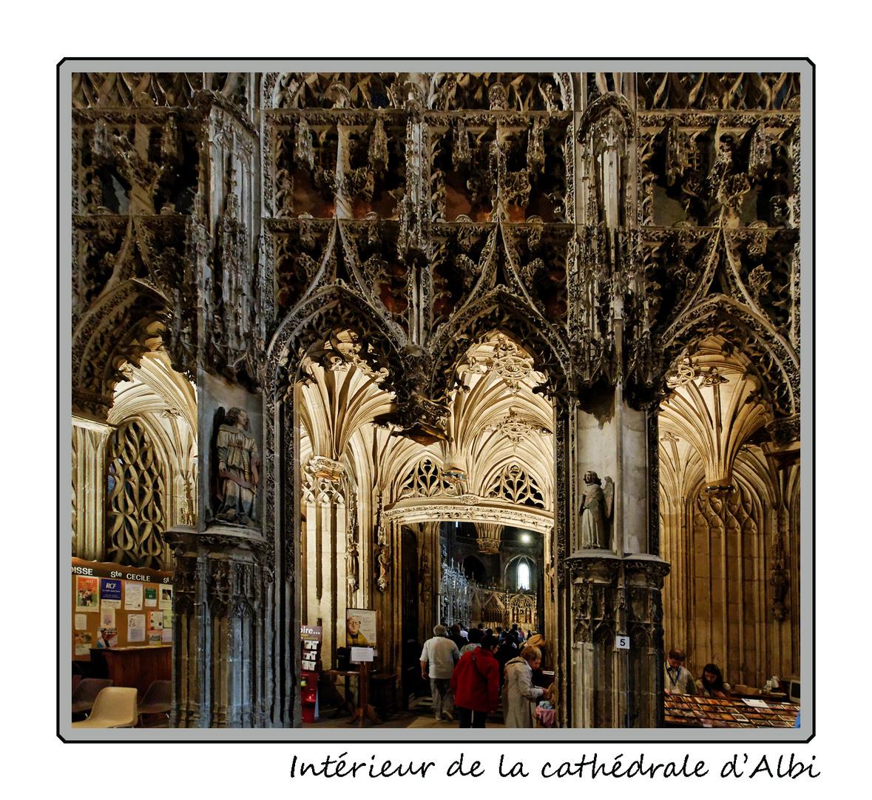 Entrée de la cathédrale d'Albi