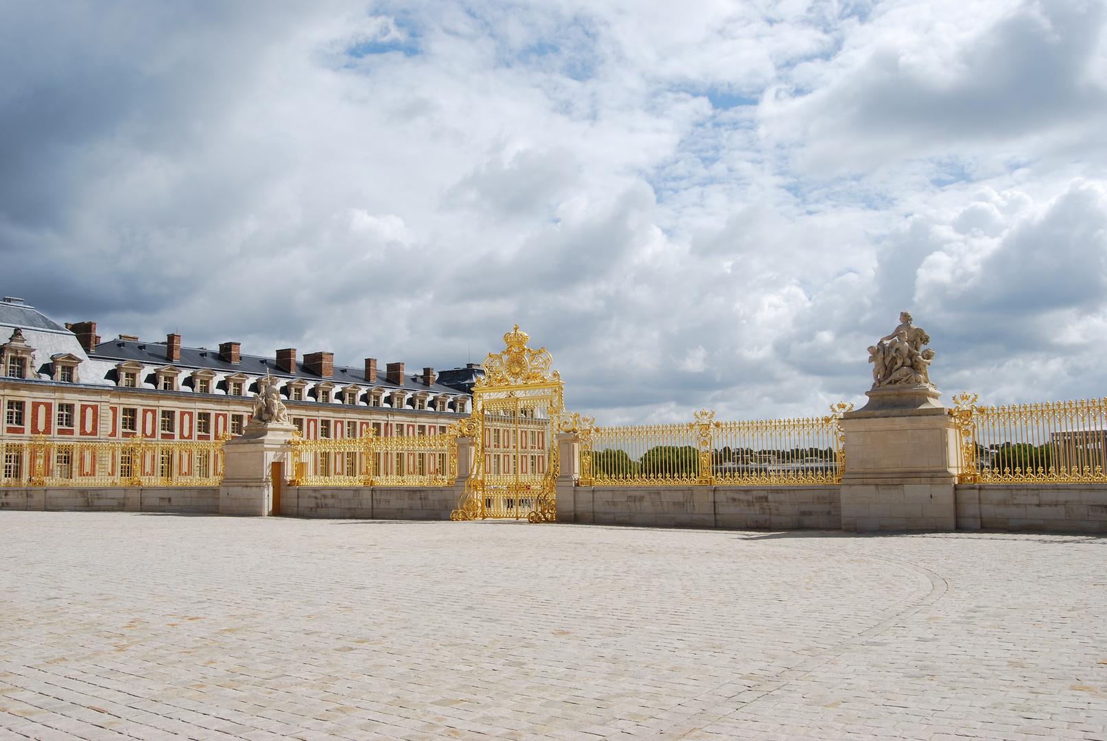 Entrée principale de Versailles