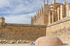 Entspannen an der Kathedrale von Palma