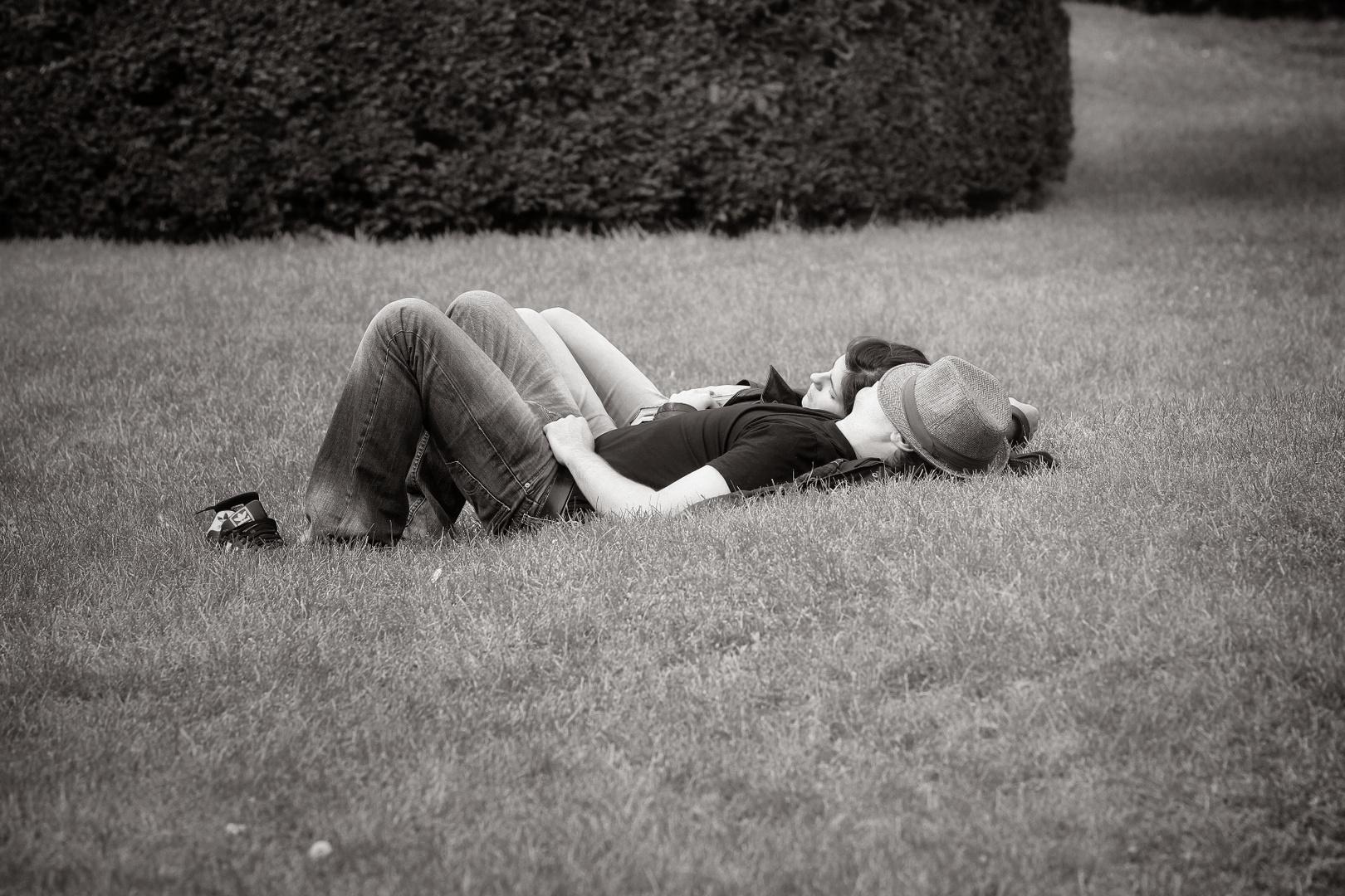 Entspannt