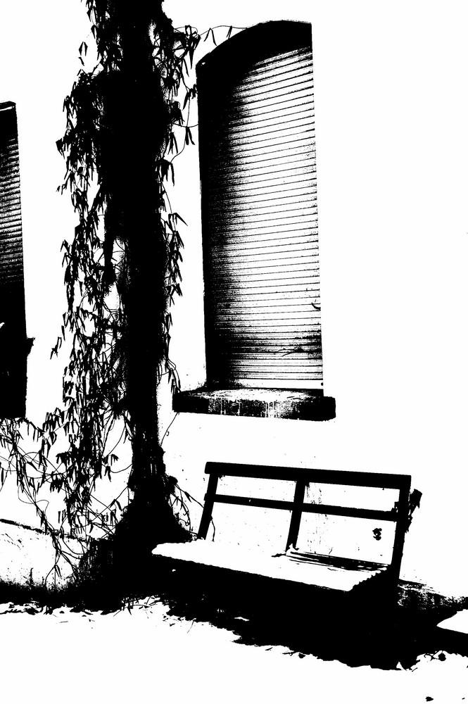 entspannung im alten dorf