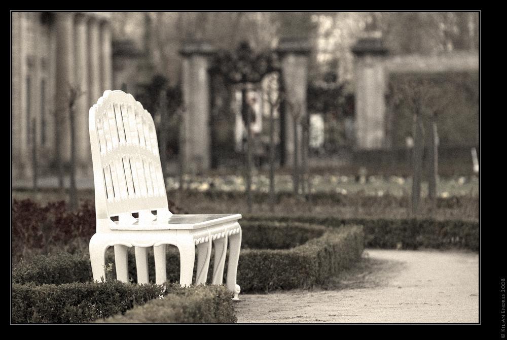 Entspannung im Residenzgarten