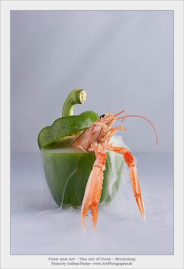 """Entstanden auf dem """"Food and Art - The Art of Food"""" Workshop"""