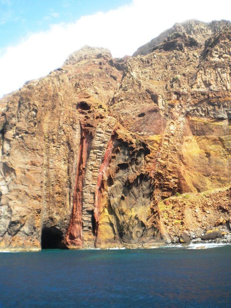 Entstehung einer Insel - Ilhas Desertas