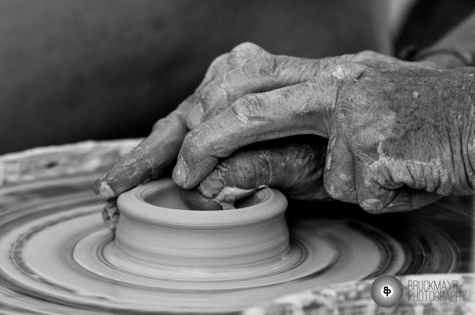 Entstehung einer Vase...
