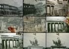Entstehungsphasen des Panoramagemäldes