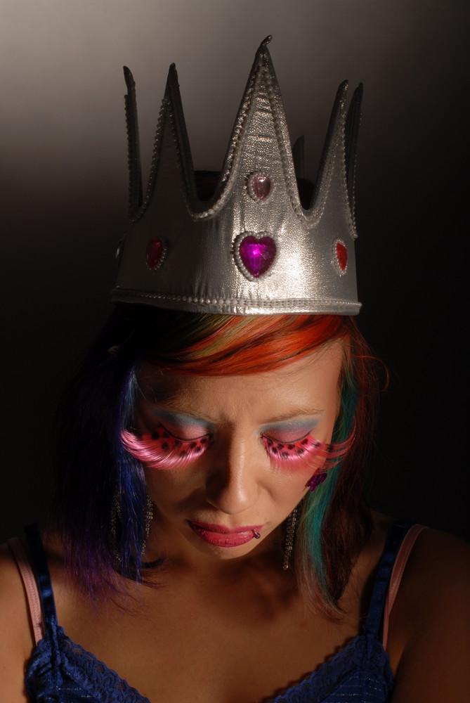 Enttäuschte Prinzessin