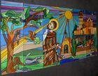 Entwurf für ein Kirchenfenster-gemalt und fotographiert
