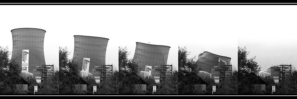 E.OFF - Sprengung Kühlturm Kraftwerk Rauxel - Das Geschehen