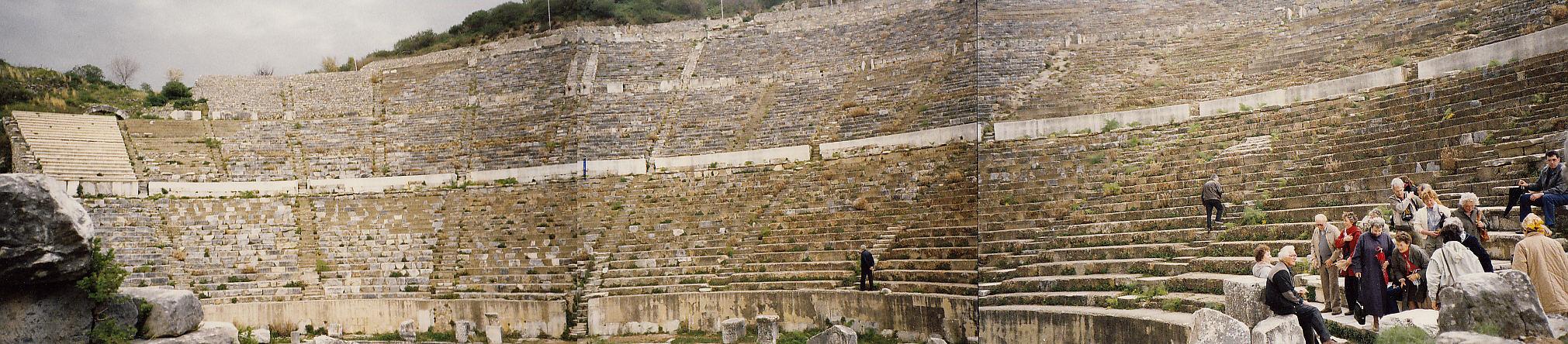 Ephesus Amphitheater / Türkei   1984
