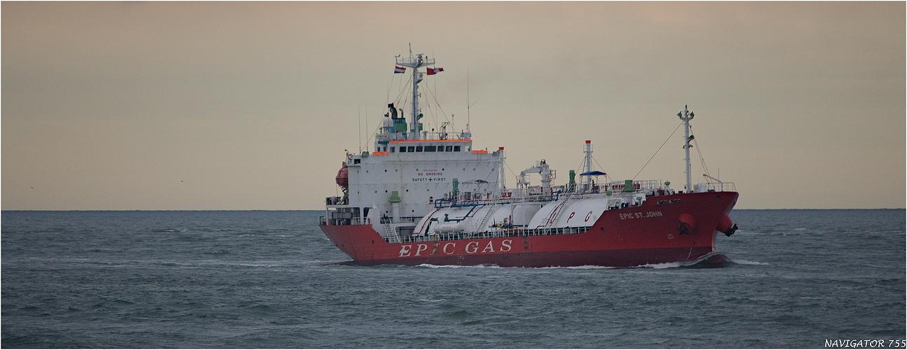 EPIC ST JOHN / LPG Tanker / Rotterdam