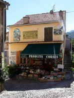 Epicerie de Corté en Corse