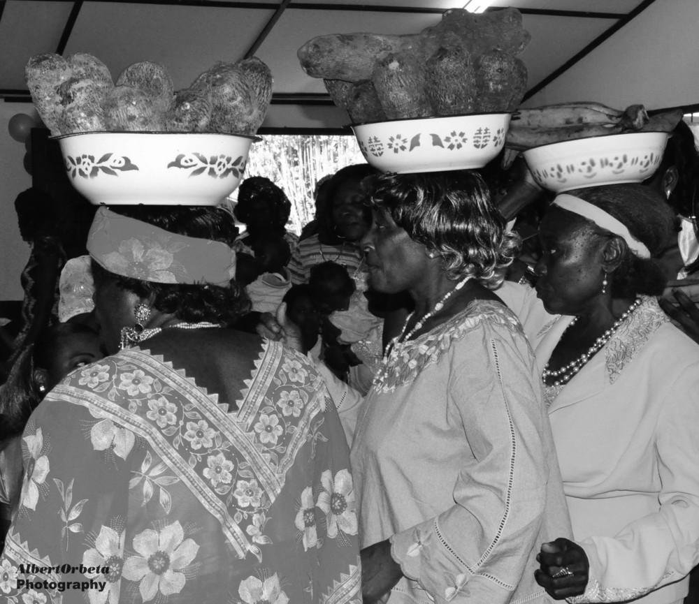 Equatorial Guinea Wedding Dance Offering