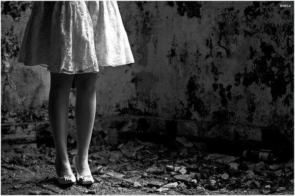 er dagegen dachte an die wunderschönen Beine seiner Liebsten...