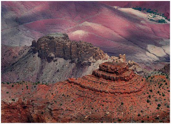 Er ist alt, dieser Grand Canyon...