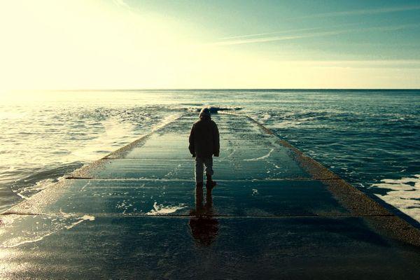 Er konnte über das Meer gehen..