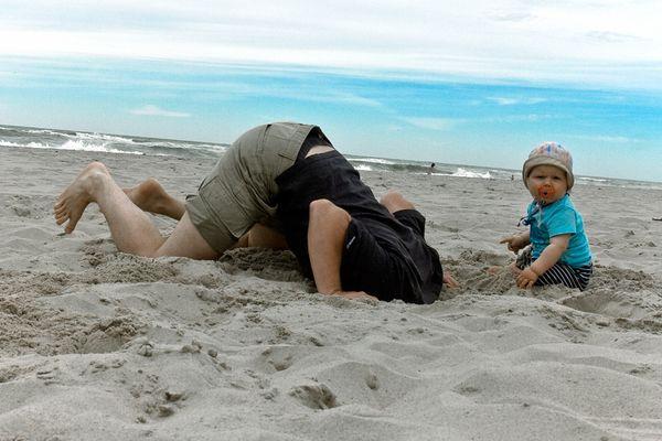 Er liebt Sand!